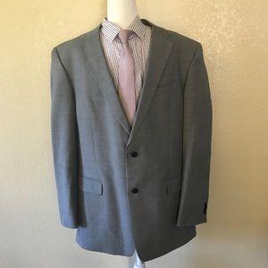 Tommy Hilfiger immaculate gray wool blazer 44L
